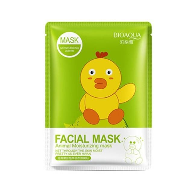 BioAqua Animal Moisturizing Mask цыпленок)